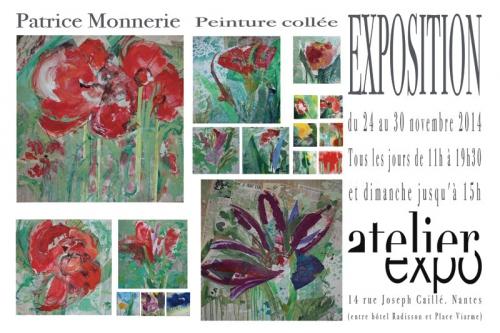 art,peinture,collage,exposition