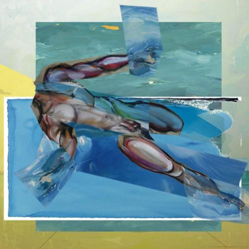 art,peinture,image,photographie,collage,baigneur