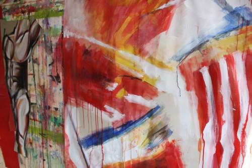 art,peinture,image,corps,nu,guerrier,photographie,exposition