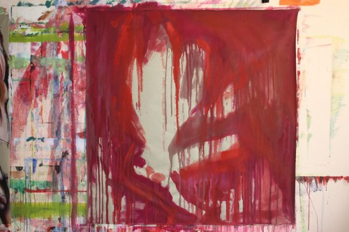art,peinture,image,corps,nu,fleur,érotisme,homosexualité