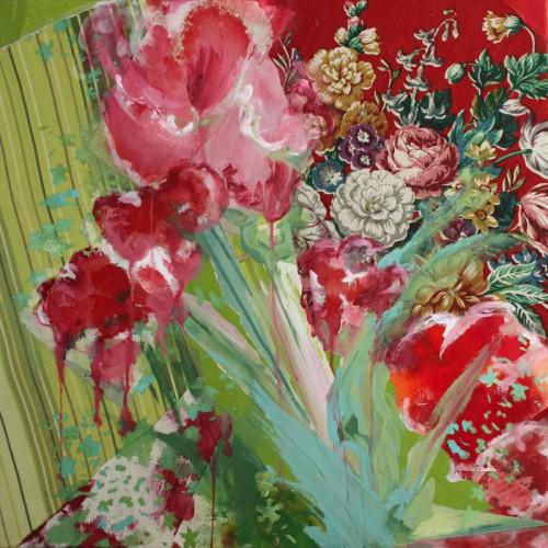Art, peinture,image,photographie,collage,fleur