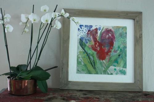 Art,peinture,image,exposition,collage,fleurs
