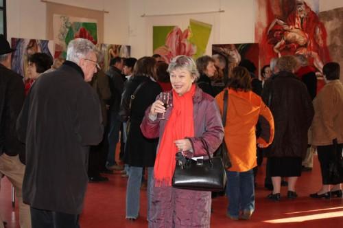 exposition,art,peinture,image,corps nu,fleurs
