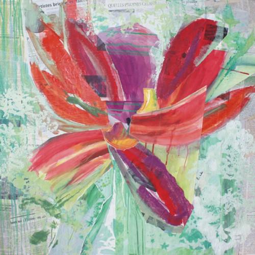 art,peinture,image,collage,photographie,fleur