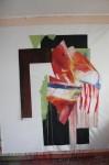 art,peinture,image,photographie,collage,série,guerrier,corps,nu,