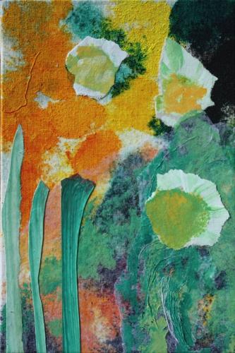 art,peinture,image,collage,fleut