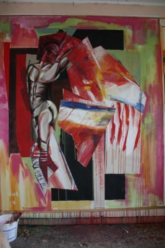 art,peinture,image,corps,nu,guerriers